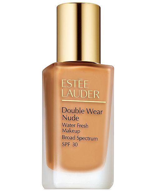 Estee Lauder Double Wear Nude Water Fresh Makeup SPF 30, 1 oz.
