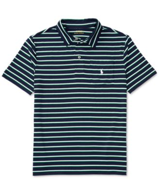 Image of Ralph Lauren Striped Polo, Big Boys (8-20)