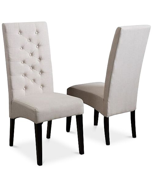 Noble House Alcena Dining Chair (Set Of 2), Quick Ship