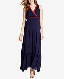 Jessica Simpson V-Neck Maxi Dress