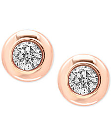 EFFY® Diamond Bezel Stud Earrings (3/8 ct. t.w.)