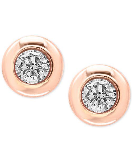 EFFY Collection EFFY® Diamond Bezel Stud Earrings (3/8 ct. t.w.)