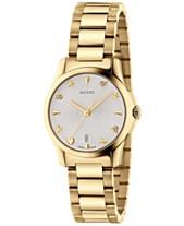 62e99108df58d7 Gucci Women s Swiss G-Timeless Gold-Tone PVD Stainless Steel Bracelet Watch  27mm