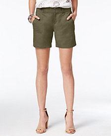 I.N.C. Linen Shorts, Created for Macy's