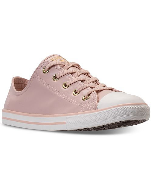 b451f3389b9cc7 Converse Women s Chuck Taylor Dainty Craft SL Casual Sneakers from Finish  Line ...