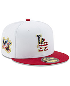 New Era Los Angeles Dodgers Americana Ultimate Patch Collection 59FIFTY Cap