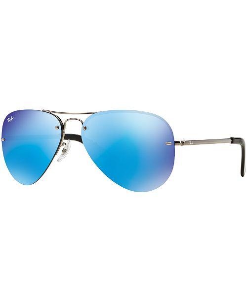 acd8b5416b8d Ray-Ban Sunglasses, RB3449 & Reviews - Sunglasses by Sunglass Hut ...