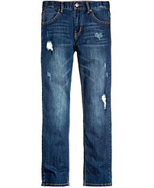 Tommy Hilfiger Straight-Fit Jeans, Little Boys