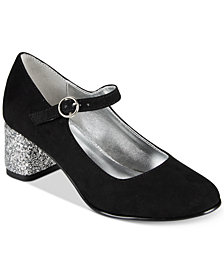 Kenneth Cole New York Cindy Sparkle Heels, Little & Big Girls