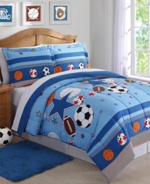 My World Sports & Stars Reversible 2-Pc. Twin Comforter Set Bedding