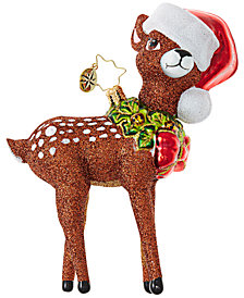 Christopher Radko Oh, Deer Me! Ornament