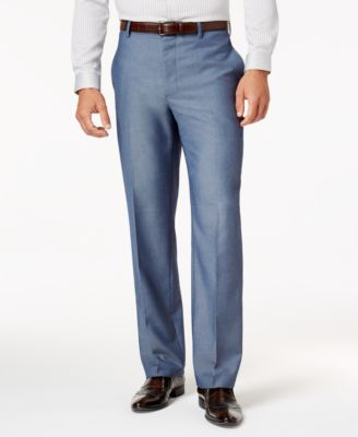I.N.C. Men's Chambray Suit Pants, Created for Macy's