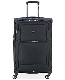 "CLOSEOUT! Delsey Opti-Max 25"" Expandable Spinner Suitcase, Created for Macy's"