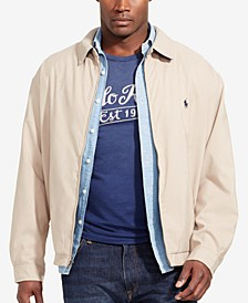 Men's Big and Tall Jackets, Bi-Swing Windbreaker