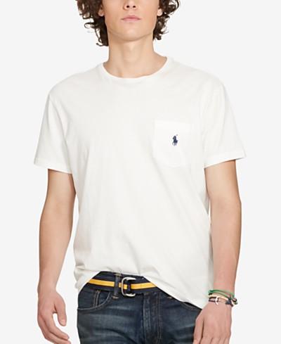 Polo Ralph Lauren Men's Standard Fit Pocket T-Shirt