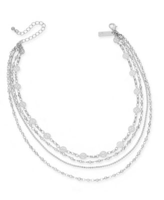 Image of INC International Concepts Multi-Layer Choker Necklace, Created for Macy's