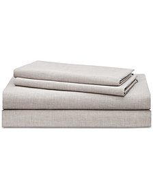 Lauren Ralph Lauren Graydon SoftWeave 144, 3-Pc. Twin Sheet Set