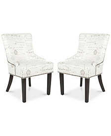 Lotus 19''H Side Chair (Set Of 2), Quick Ship