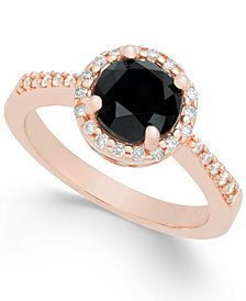 Diamond Halo Ring (1-3/4 ct. t.w.) in 14k Rose Gold