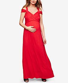 Motherhood Maternity Strappy Maxi Dress