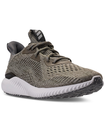 adidas Women's AlphaBounce EM Running Sneakers from Finish Line