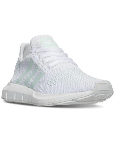 adidas Womens Swift Run W  WHITEGREEN  4U1WNB3WE