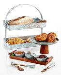 Thirstystone Galvanized Serveware Collection