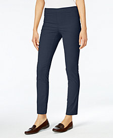 Karen Scott Pull-On Corduroy Pants, Created for Macy's