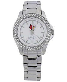 Jack Mason Women's Louisville Cardinals Glitz Sport Watch