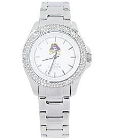 Jack Mason Women's East Carolina Pirates Glitz Sport Bracelet Watch