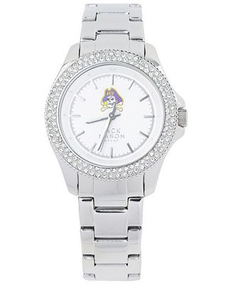 Jack Mason Women's East Carolina Pirates Glitz Sport Bracelet Watch