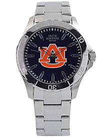 Jack Mason Men's Auburn Tigers Color Sport Bracelet Watch