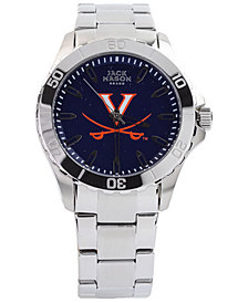 Jack Mason Men's Virginia Cavaliers Color Sport Bracelet Watch
