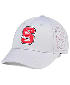 Top of the World North Carolina State Wolfpack Light Gray Rails Flex Cap