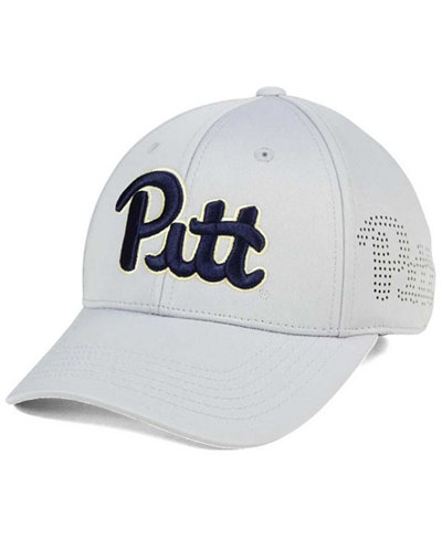 Top of the World Pittsburgh Panthers Light Gray Rails Flex Cap