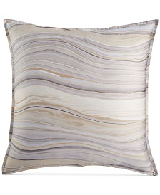 Hotel Collection Agate Pima Cotton European Sham, Created for Macy's