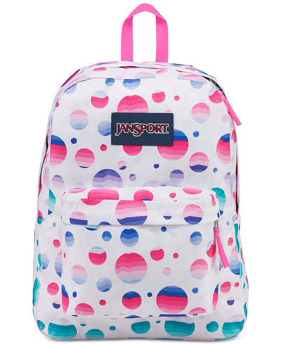 Jansport Superbreak Ombré Dot Backpack - Wallets & Accessories ...