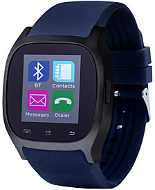 iTouch Unisex Navy Rubber Strap Smart Watch 46x45mm ITC3360BK590-273