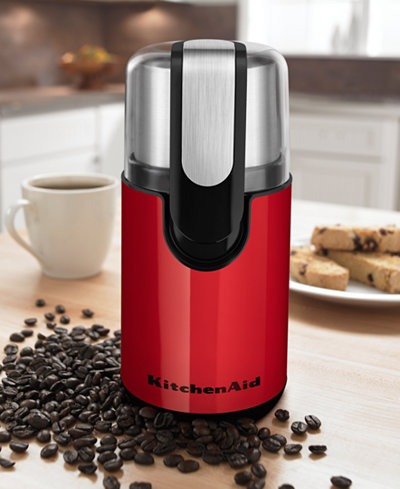 KitchenAid® BCG111 Blade Coffee Grinder - Coffee, Tea & Espresso - Kitchen - Macy's