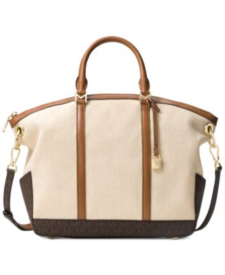 MICHAEL Michael Kors Beckett Large Top-Zip Satchel