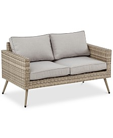 Bauer Outdoor Loveseat, Quick Ship