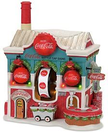 Department 56 North Pole Village Coca Cola Bottle Caps