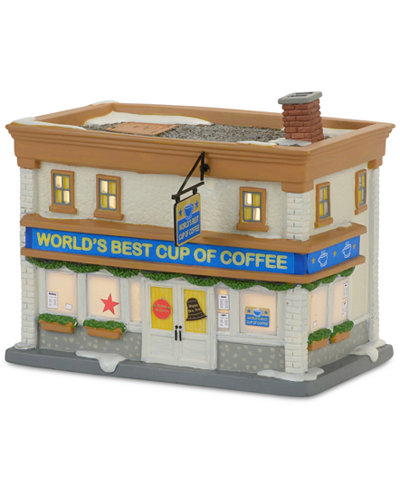 Department 56 World's Best Cup Of Coffee Shop