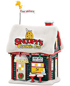 Department 56 Peanuts Village Snoopy's Cookie Jar