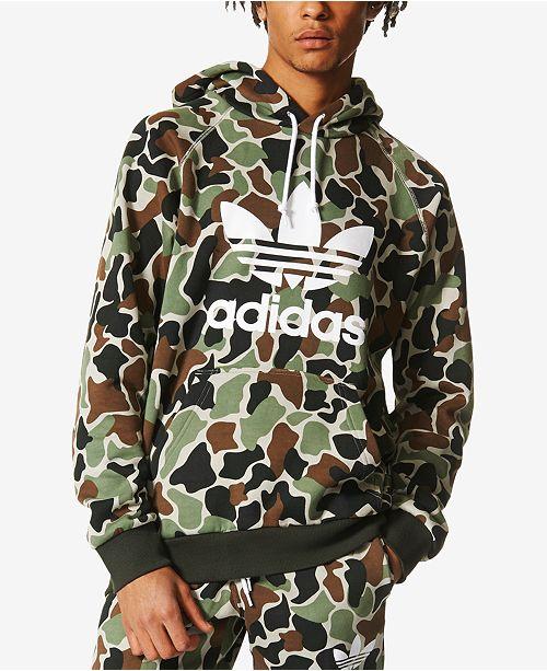 adidas Men s Camo Hoodie - Hoodies   Sweatshirts - Men - Macy s cf5e3cd45