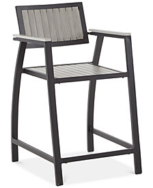 Carter Outdoor Counter Stool, Quick Ship