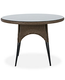 Lily Outdoor Round Table, Quick Ship
