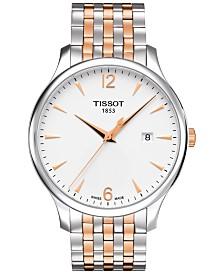 Tissot Men's Swiss Tradition Two-Tone Stainless Steel Bracelet Watch 42mm