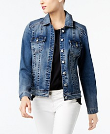 INC Denim Trucker Jacket, Created for Macy's