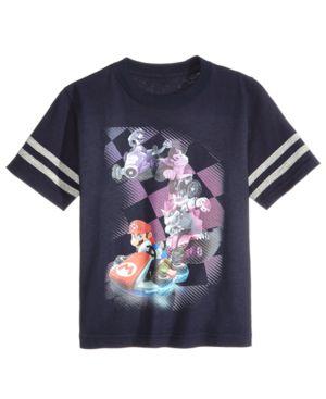 Nintendo Super Mario-Print Cotton T-Shirt, Little Boys (4-7) 4787195